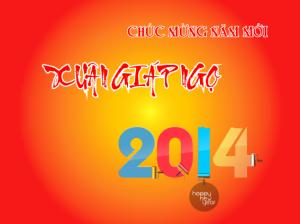 Chúc mừng năm mới xuân Giáp Ngọ 2014