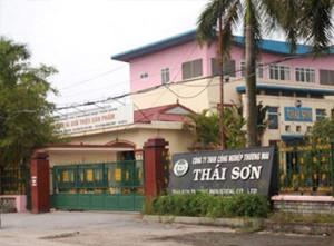 Trụ sở Công ty TNHH Công nghiệp Thương mại Thái Sơn tại Hải Phòng