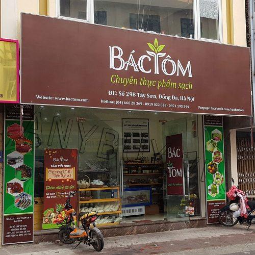 Cửa hàng rau sạch Bác Tôm