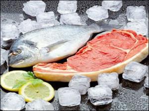 Thịt cá đông lạnh