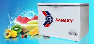 Tủ đông Sanaky giúp thực phẩm luôn tươi ngon