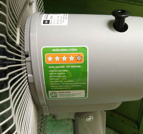 a30a nhãn tiết kiệm năng lượng