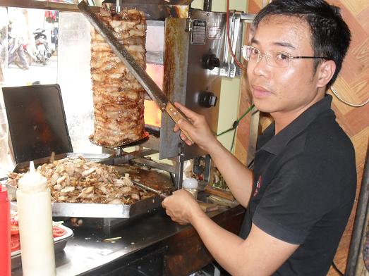 Bánh mỳ Doner Kebab ở Việt Nam