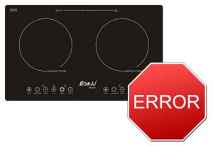 Các mã báo lỗi của bếp từ