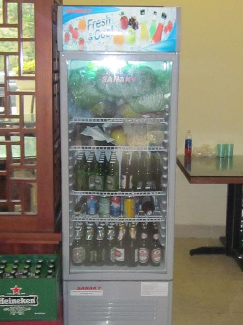 Tủ mát bảo quản bia