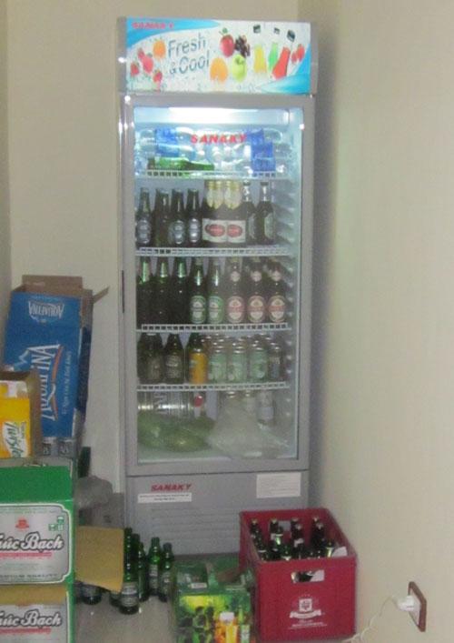 Tủ mát bia