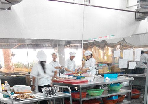 Nhà bếp của Phố Biển Buffet