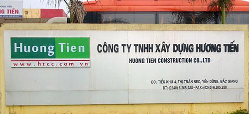 Công ty TNHH Xây dựng Hương Tiến