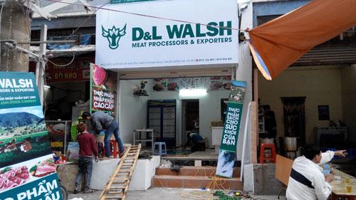 Cửa hàng thực phẩm cao cấp D&L WALSH