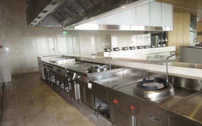 Khu vực bếp xào