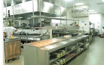 Khu vực bếp chính