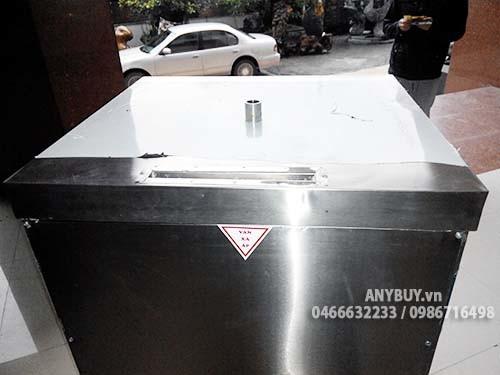 Đường thoát khói và hơi trên nóc tủ khi nước sôi hãy giảm gas