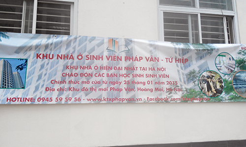 Banner chào mừng sinh viên đến đăng ký
