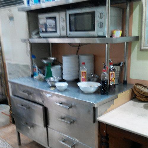 Một góc bếp Tố Uyên