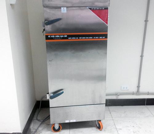 Tủ nấu cơm do anybuy cung cấp 12 khay điện