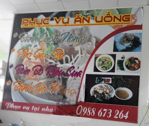 Dịch vụ ăn uống Kiot 63
