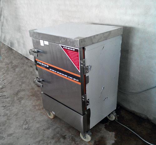 Tủ nấu cơm điện 6 khay cung cấp cho quân đoàn 2