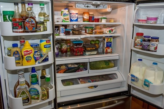 Nhiệt độ giữa các vùng bên trong tủ lạnh là khác nhau