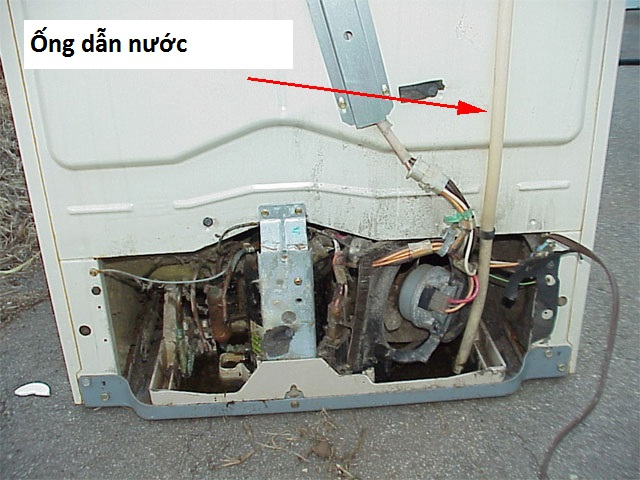 Ống thoát nước tủ lạnh