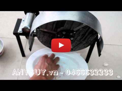 Video hướng dẫn sử dụng máy thái hành