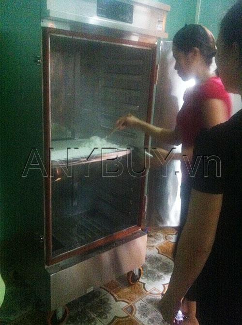 Nhà bếp nghiệm thu chất lượng cơm nấu