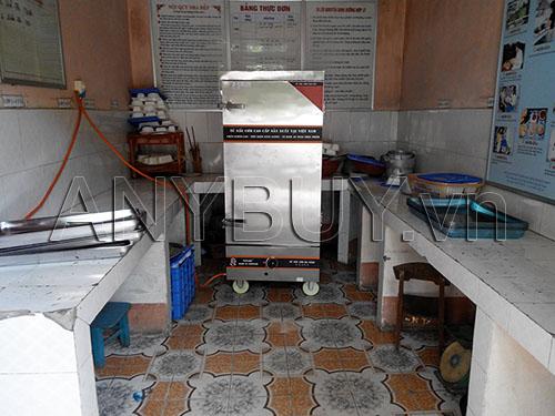 Lắp đặt tủ nấu cơm cho nhà bếp