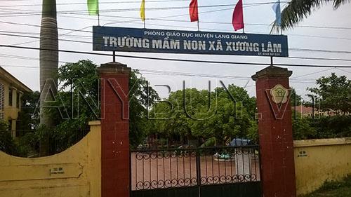 Trường mầm non xã Xương Lâm