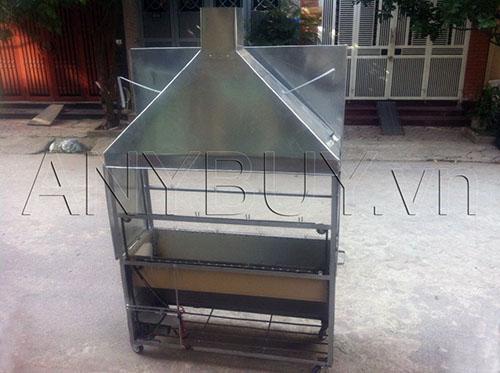 Lò nướng vịt 2 tầng 8 xiên 40cm