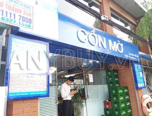 Cung cấp lò nướng Salamander Thổ Nhĩ Kỳ cho nhà hàng Cồn Mờ