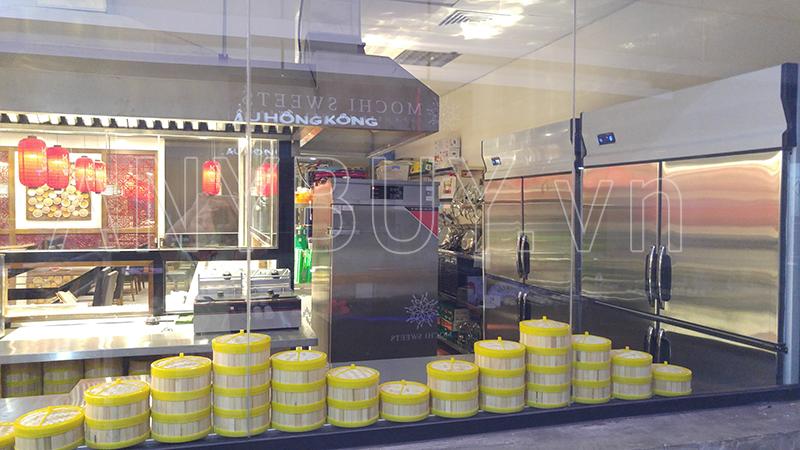 Bếp nhà hàng hiện đại ngày nay trong các trung tâm thương mại tiêu chuẩn bắt buộc phải dùng điện