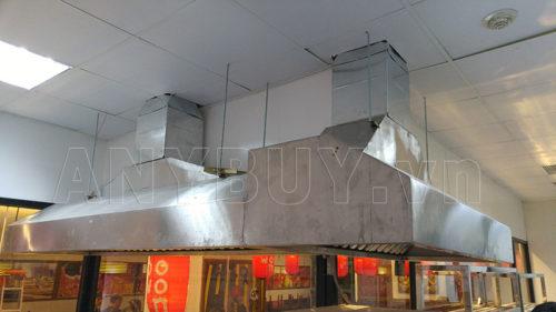 ANY Việt Nam là đơn vị lắp đặt hệ thống chụp hút mùi inox cho bếp nhà hàng.