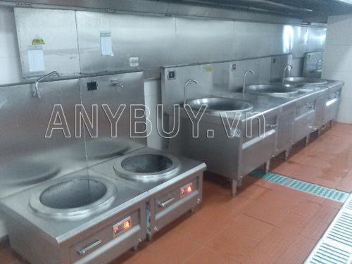 Sử dụng bếp từ công nghiệp hiệu suất cao đun nấu nhanh thất thoát ít giúp giảm nhiệt