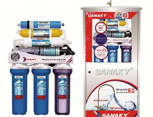 Giới thiệu máy lọc nước sạch tinh khiết RO Sanaky