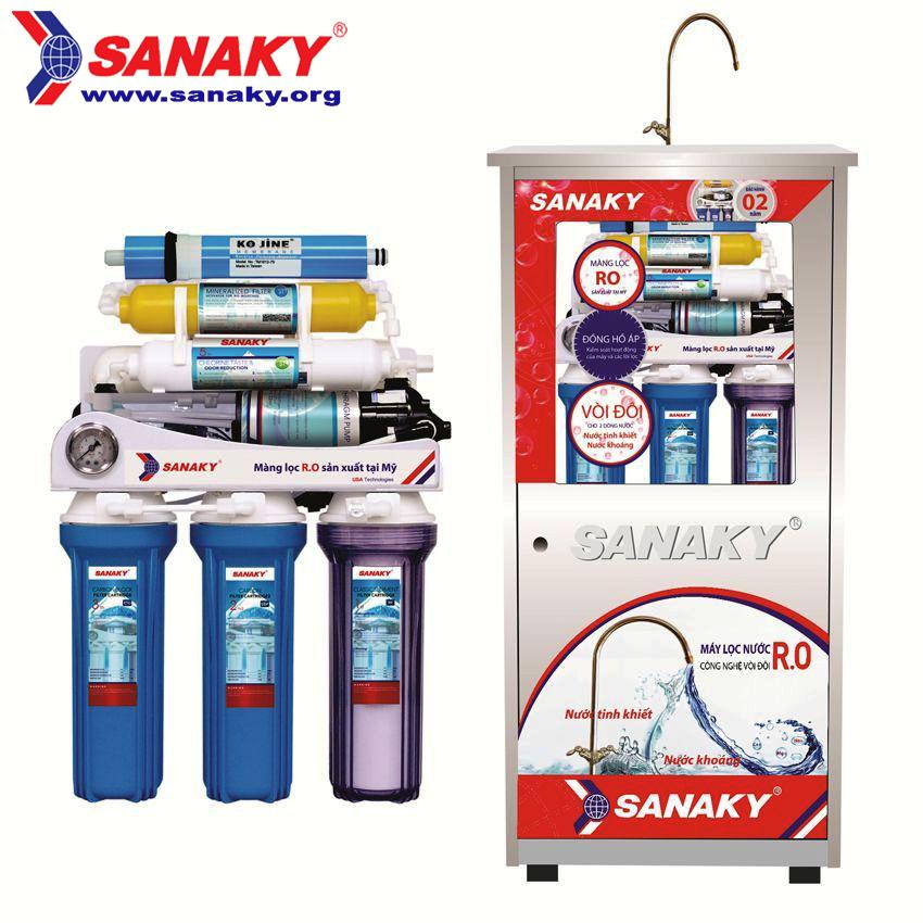 Máy lọc nước RO Sanaky SNK-109N