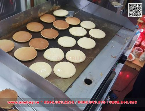 Máy làm bánh Dorayaki hay máy làm bánh rán Doraemon