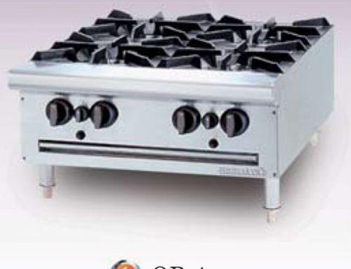 Giới thiệu Bếp âu Berjay 4 họng dùng gas OB-4