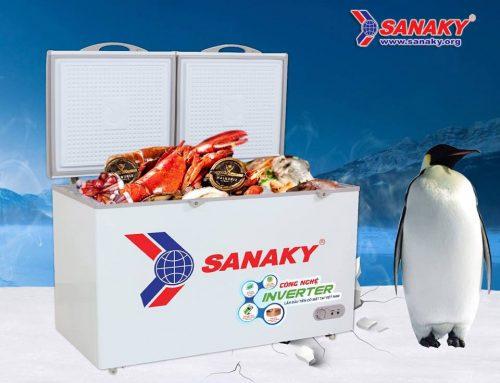 Công nghệ Smart Inverter áp dụng trên tủ đông Sanaky