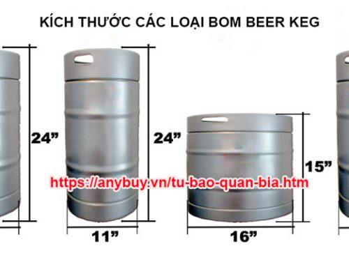 Tìm hiểu các loại bom bia keg trên thị trường hiện nay