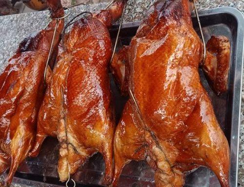 Cách làm vịt quay lá mắc mật chuẩn món vịt quay Lạng Sơn