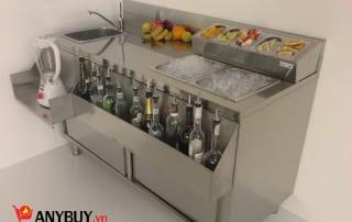 Mẫu quầy pha chế cocktail mã sản phẩm WS150