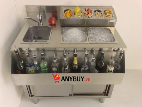 Mẫu quầy pha chế cocktail mã sản phẩm WS100