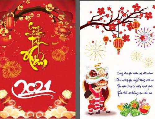 Lời chúc mừng năm mới Tân Sửu 2021