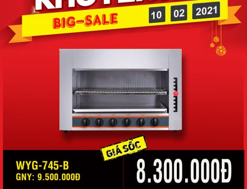 WYG-745-B BIG-SALE giá sốc cuối năm